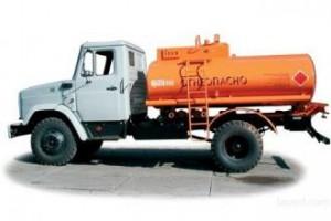 Дизельное топливо бензовозами