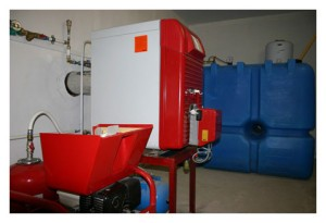 Отопление дизельным топливом